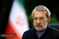 نشست خبری رئیس مجلس شورای اسلامی آغاز شد