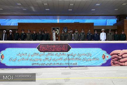 مراسم دانشآموختگی دانشجویان دانشگاههای افسری