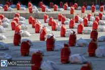 توزیع 600 بسته معیشتی توسط اوقاف بین نیازمندان در شهرستان لنجان