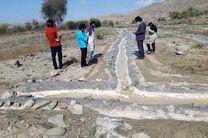 جزئیات خسارت بارش تگرگ به بیش از 20 هکتار زمین کشاورزی در سندرک