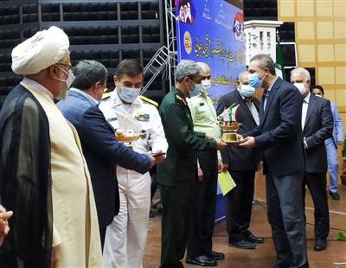کسب مقام برتر جشنواره شهیدرجایی توسط آب و فاضلاب هرمزگان