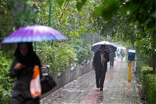 وقوع طوفان تندری درخوزستان بوشهر و کهگیلویه/16 استان شاهد باران