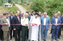 افتتاح پروژه های عمرانی در ماسال به مناسبت هفته دولت