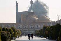 کیفیت هوای اصفهان برای گروه های حساس در شرایط ناسالم قرار گرفت