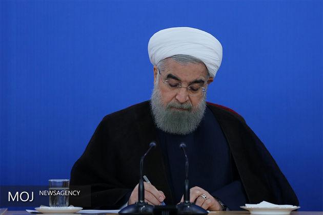 روحانی به الهام علی آف تسلیت گفت