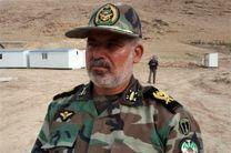 خدمت دهی بیمارستان صحرایی ارتش در منطقه مرزی مهران