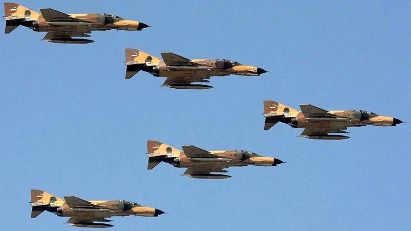 هواپیماهای C130 اقدام به بمباران هوایی کرد