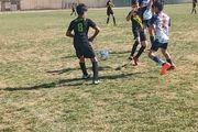 برگزاری مسابقات فوتبال رده سنی نونهالان در خمینی شهر