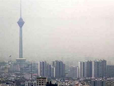 شاخص آلودگی هوای تهران امروز 16 بهمن به 180 رسید/ وضعیت هوای تهران در شرایط اضطرار قرار گرفت