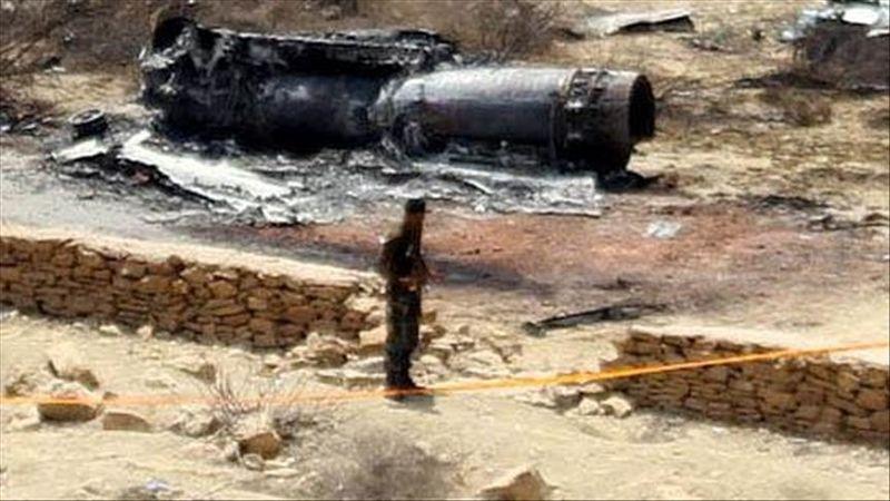 1 جنگنده ارتش پاکستان در ایالت پنجاب سقوط کرد