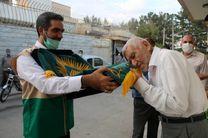 حضور خادمیاران رضوی کانون خدمت رضوی سیدالشهدا در محله خواجه عمید اصفهان