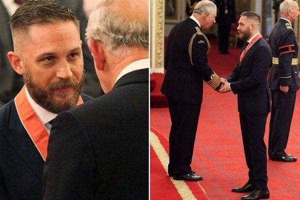 تام هاردی را به مقام فرمانده امپراتوری بریتانیا منصوب کرد