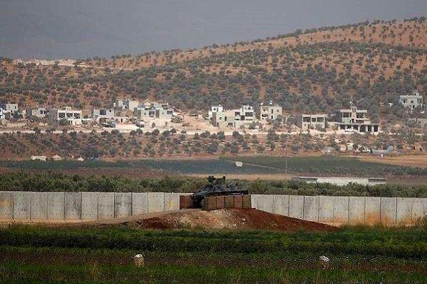 ساخت دیوار حائل در شمال سوریه آغاز شد