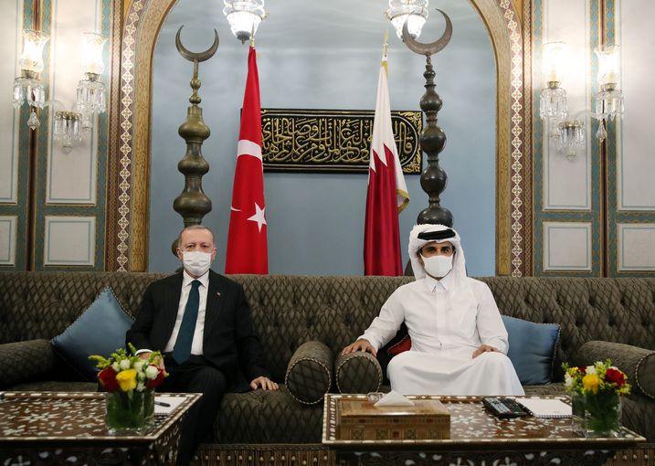 اردوغان به قطر سفر کرد