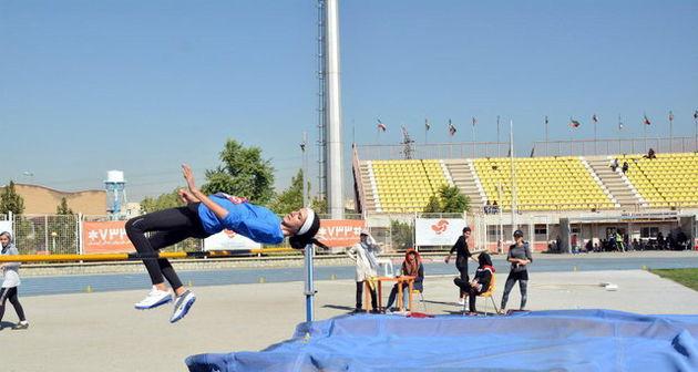 نتایج مرحله نخست رقابت های دوومیدانی لیگ امید زنان