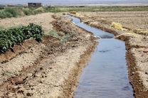 توزیع آب به باغات غرب اصفهان پایان یافت