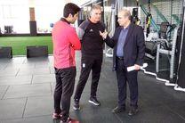 رئیس فدراسیون فوتبال با کی روش در مرکز پک دیدار کرد