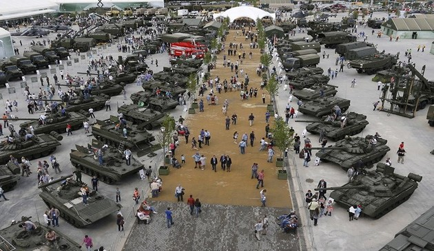 روسیه سال گذشته بیش از 9 میلیارد دلار سلاح فروخت