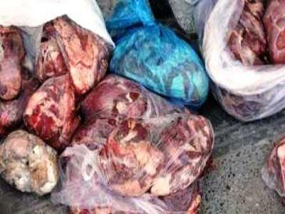 کشف حدود یک تن گوشت فاسد از واحد طباخی غیرمجاز در اصفهان