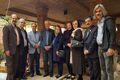 جمعی از چهرههای هنری کشور از مراحل بازسازی ساختمان موسسه هنرمندان پیشکسوت دیدن کردند
