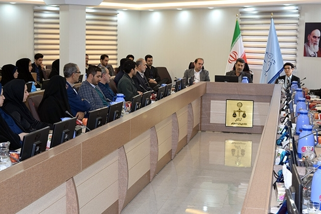 برگزاری دوره آموزشی دفاتر جدید خدمات الکترونیک قضایی استان گیلان