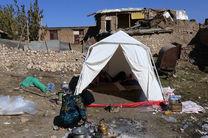 کمک کارکنان نیروی انتظامی گیلان برای ساخت مسکن مددجویان زلزلهزده کرمانشاه