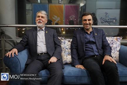 بازدید وزیر ارشاد از سینمای رسانه جشنواره فیلم فجر