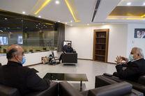 علیرضا دبیر با مدیرکل ورزش و جوانان استان تهران دیدار کرد