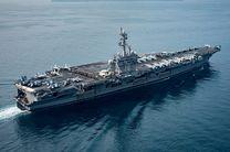 جنگندۀ آمریکایی پیش از «حملۀ احتمالی» به کرۀ شمالی در دریا غرق شد