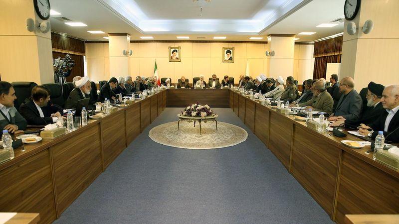 جلسه مجمع تشخیص مصلحت نظام صبح امروز برگزار شد