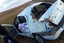 یک کشته و مصدوم در اثر واژگونی خودروی ال 90 در فریدن