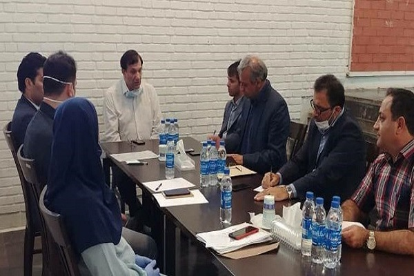 نشست حسن رنگرز با رئیس فدراسیون وزنه برداری برگزار شد