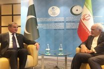 وزیران امورخارجه ایران و پاکستان دیدار کردند