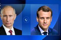 پوتین فینالیست شدن فرانسه را به مکرون تبریک گفت