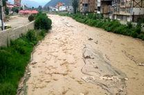 احتمال وقوع سیل در مازندران/مسافران از برپایی چادر و اتراق در مسیر رودخانهها پرهیز کنند