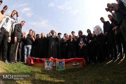 مراسم تشییع پیکر ابراهیم آشتیانی