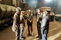 بازدید رئیس حوزه هنری و رئیس سازمان سینمایی حوزه از پشت صحنه فیلم «سرو زیر آب»