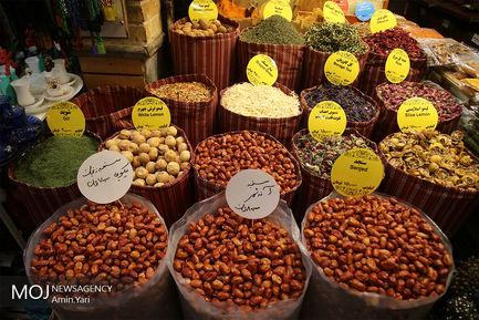 حال و هوای بازار تجریش تهران در روزهای پایانی سال ۱۳۹۷