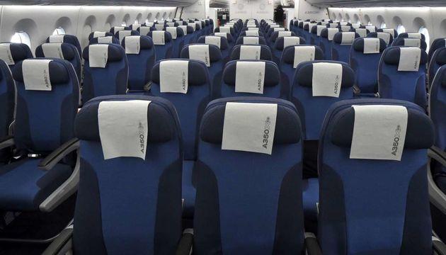 پیشنهاد اصلاح چیدمان صندلی هواپیماها