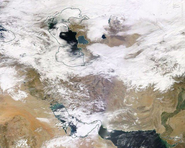 آخرین وضعیت آب و هوا در مازندران