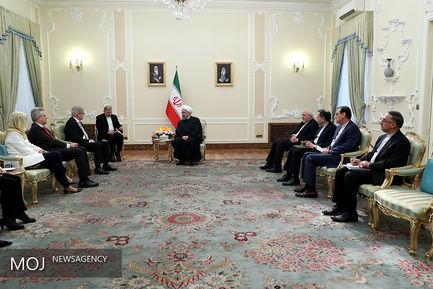 دیدار وزیرای خارجه اسپانیا با رییس جمهوری