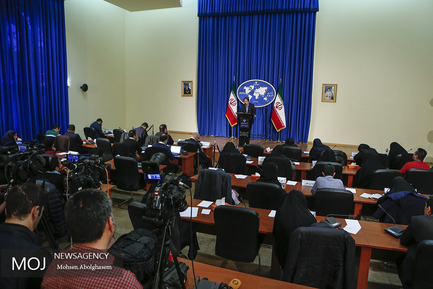 نشست خبری سخنگوی وزارت امورخارجه