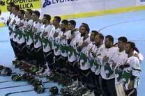 تیم ملی اسکیت هاکی ایران مقابل لهستان شکست خورد