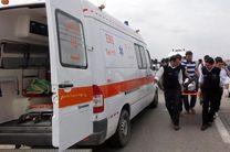 پسر 20 ساله مقابل وزارت کار خودسوزی کرد