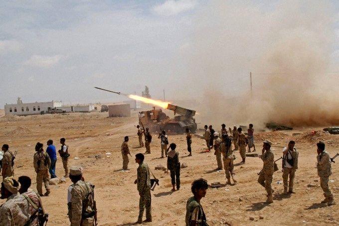 موشک بالستیک یمن به سمت آرامکو شلیک شد