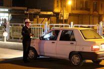 اعمال قانون ۵۰۰ خودرو به دلیل عدم رعایت منع شبانه در شهرضا