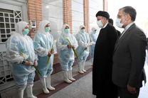 بازدید سرزده رئیس جمهور از سازمان بهشت زهرا (س)
