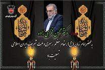 پیام تسلیت مدیرعامل ذوبآهن اصفهان در پی شهادت شهید محسن فخری زاده