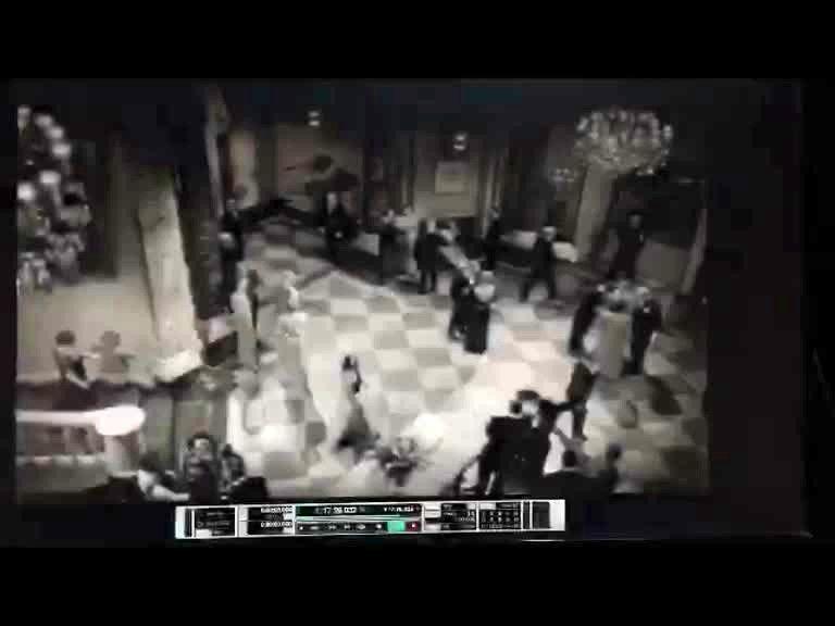 بخش هایی از پشت صحنه دوبله مستندی درباره هیچکاک
