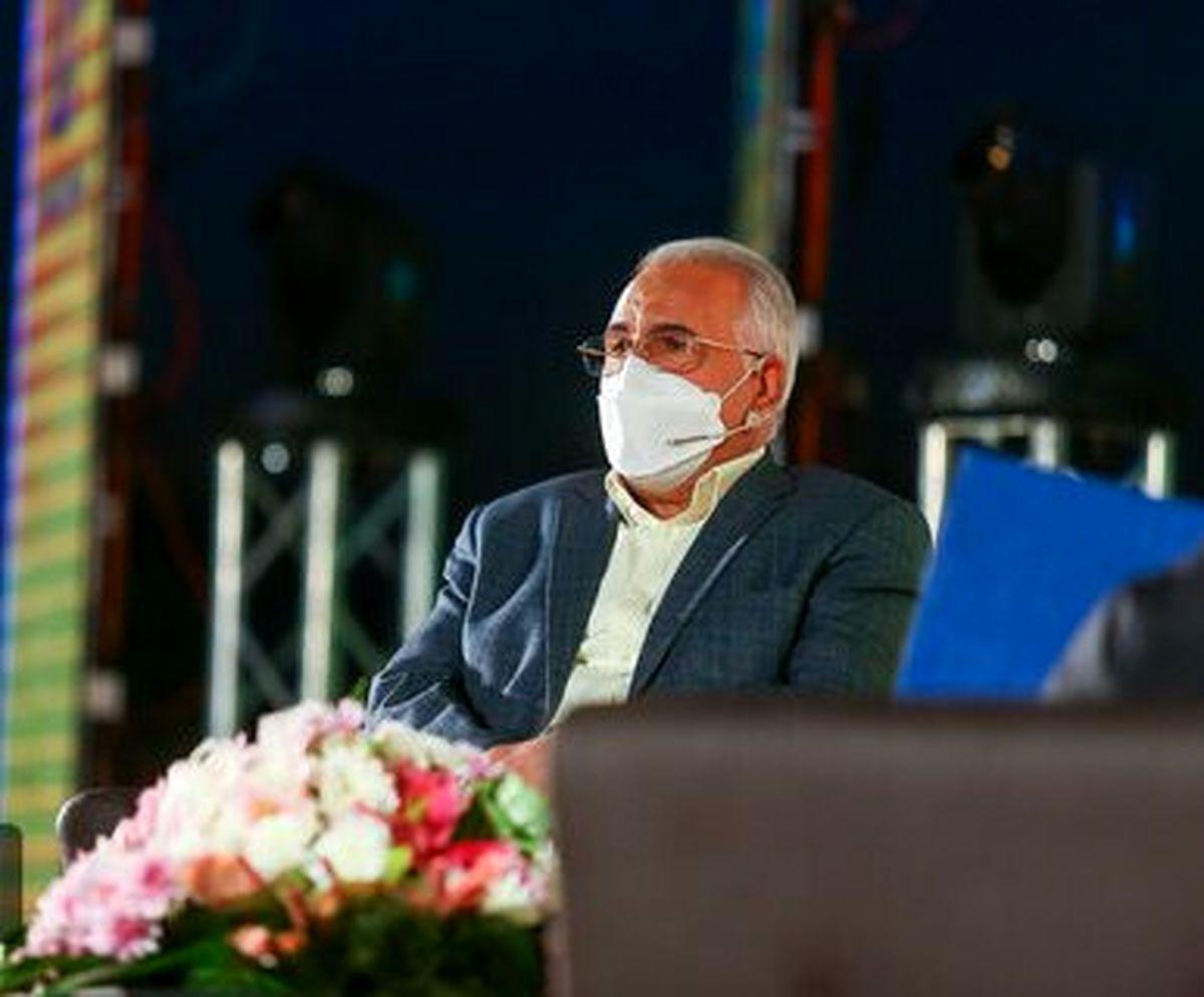 افتتاح طرح های منطقه 9 شهرداری اصفهان به صورت غیرحضوری